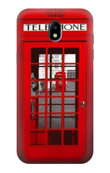 Printed Classic British Red Telephone Box Samsung Galaxy Core LTE Case