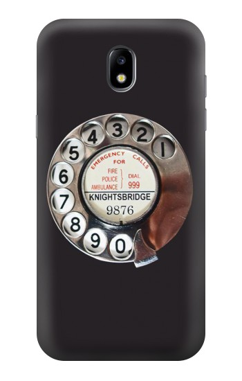 Printed Retro Rotary Phone Dial On Samsung Galaxy Core LTE Case