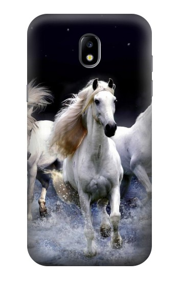 Printed White Horse Samsung Galaxy Core LTE Case