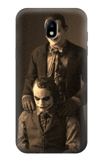 Printed Jokers Together Samsung Galaxy Core LTE Case