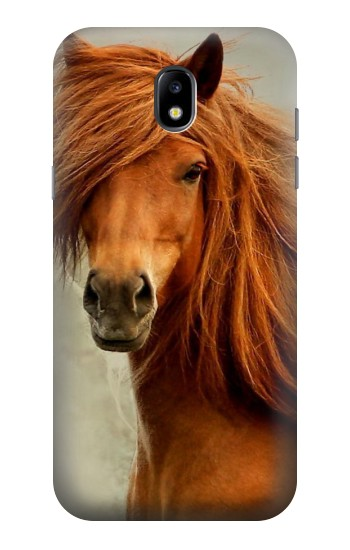 Printed Beautiful Brown Horse Samsung Galaxy Core LTE Case
