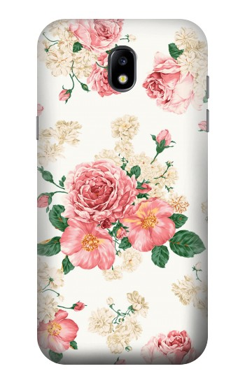 Printed Rose Pattern Samsung Galaxy Core LTE Case