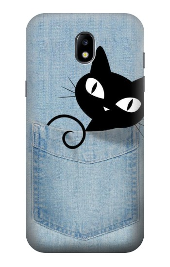 Printed Pocket Cat Samsung Galaxy Core LTE Case