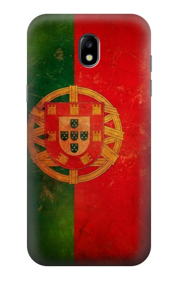 Printed Vintage Portugal Flag Samsung Galaxy Core LTE Case