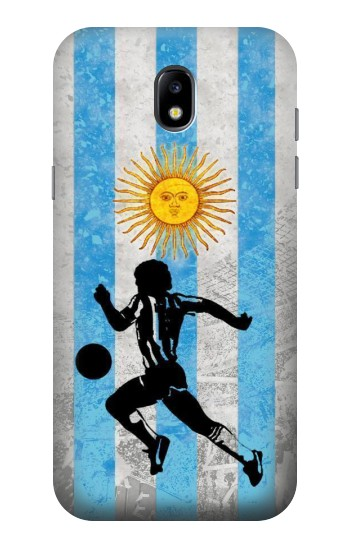 Printed Argentina Football Flag Samsung Galaxy Core LTE Case