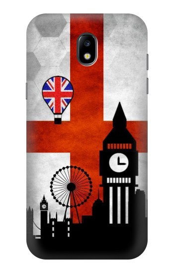 Printed England Football Flag Samsung Galaxy Core LTE Case