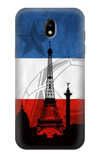 Printed France Football Flag Samsung Galaxy Core LTE Case