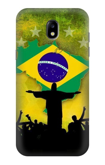 Printed Brazil Football Flag Samsung Galaxy Core LTE Case