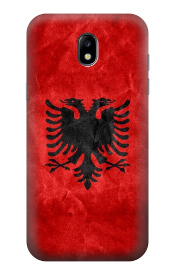 Printed Albania Red Flag Samsung Galaxy Core LTE Case