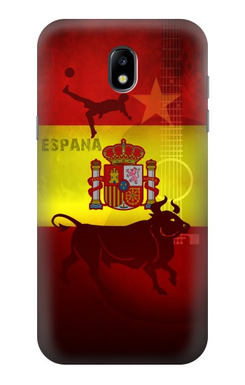 Printed Spain Football Flag Samsung Galaxy Core LTE Case