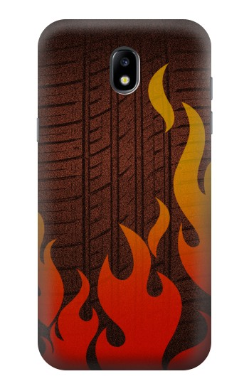Printed Rally Car Tire Samsung Galaxy Core LTE Case