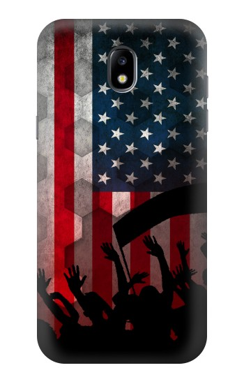 Printed USA American Football Flag Samsung Galaxy Core LTE Case