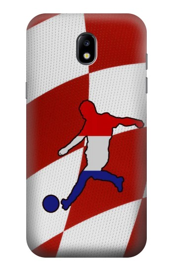Printed Croatia Football Flag Samsung Galaxy Core LTE Case