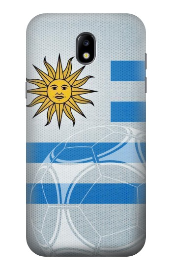 Printed Uruguay Football Flag Samsung Galaxy Core LTE Case