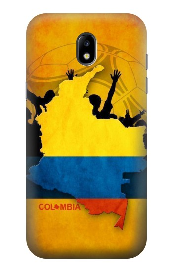 Printed Colombia Football Flag Samsung Galaxy Core LTE Case
