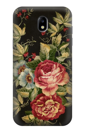 Printed Vintage Antique Roses Samsung Galaxy Core LTE Case
