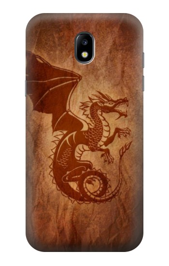 Printed Red Dragon Tattoo Samsung Galaxy Core LTE Case