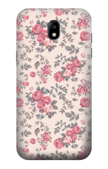 Printed Vintage Rose Pattern Samsung Galaxy Core LTE Case