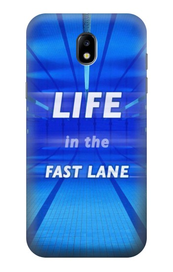 Printed Life in the Fast Lane Swimming Pool Samsung Galaxy Core LTE Case