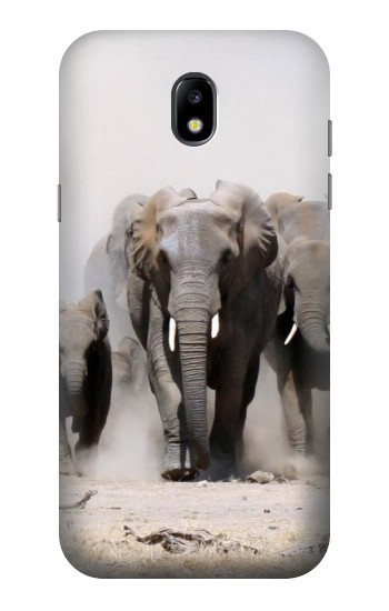 Printed African Elephant Samsung Galaxy Core LTE Case