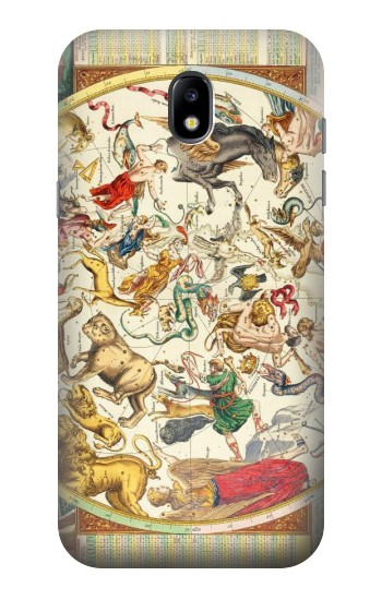 Printed Antique Constellation Map Samsung Galaxy Core LTE Case