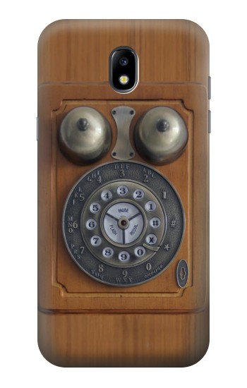 Printed Antique Wall Phone Samsung Galaxy Core LTE Case