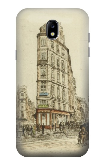 Printed Boulevards of Paris Samsung Galaxy Core LTE Case