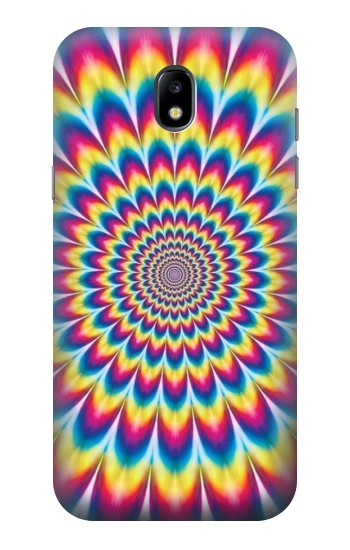 Printed Colorful Psychedelic Samsung Galaxy Core LTE Case