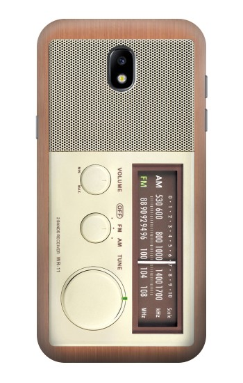 Printed FM AM Wooden Receiver Graphic Samsung Galaxy Core LTE Case