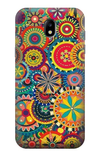 Printed Colorful Pattern Samsung Galaxy Core LTE Case