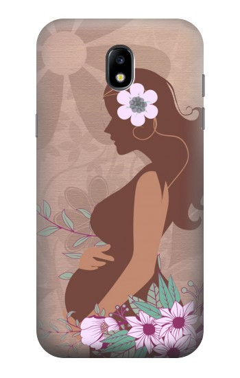 Printed Pregnant Mommy Baby Samsung Galaxy Core LTE Case
