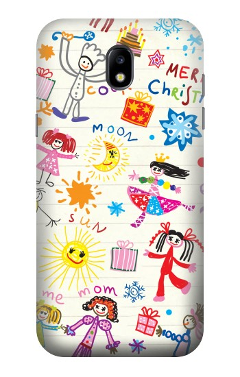 Printed Kids Drawing Samsung Galaxy Core LTE Case