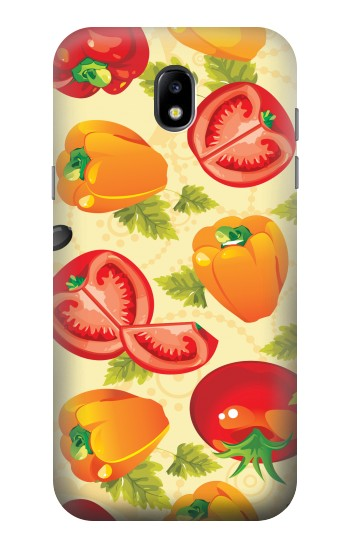 Printed Seamless Food Vegetable Samsung Galaxy Core LTE Case