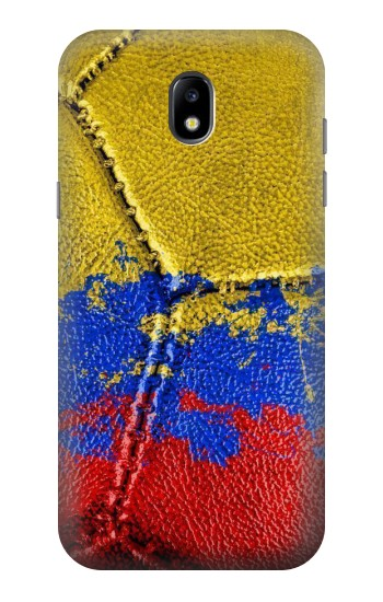 Printed Colombia Flag Vintage Football 2018 Samsung Galaxy Core LTE Case