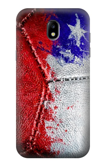Printed Chile Flag Vintage Football 2018 Samsung Galaxy Core LTE Case