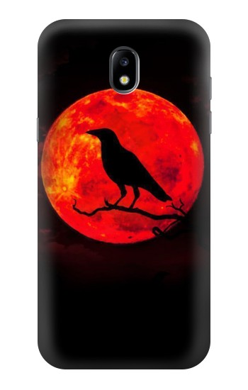 Printed Crow Red Moon Samsung Galaxy Core LTE Case