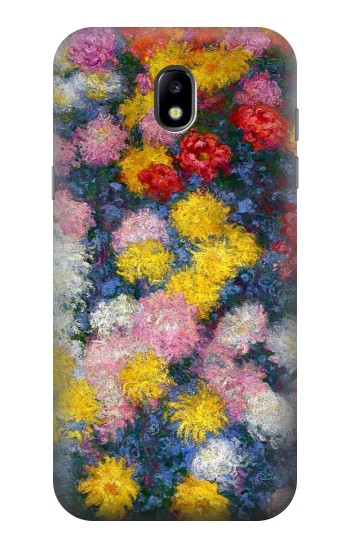 Printed Claude Monet Chrysanthemums Samsung Galaxy Core LTE Case