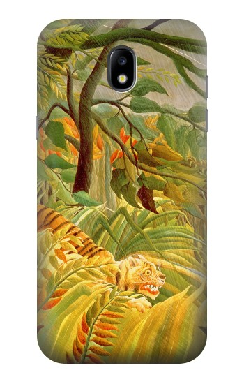 Printed Henri Rousseau Tiger in a Tropical Storm Samsung Galaxy Core LTE Case