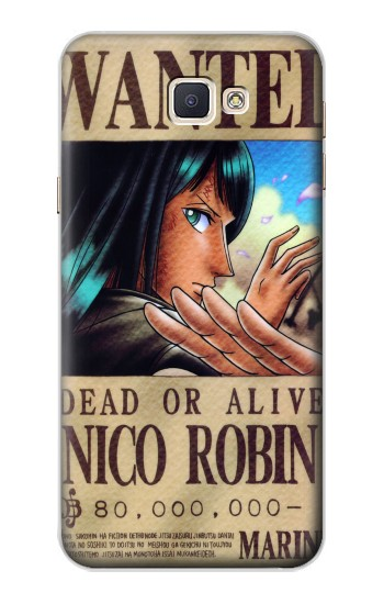 Printed One Piece Nico Robin Wanted Poster Samsung Galaxy A8, A8 Duos Case