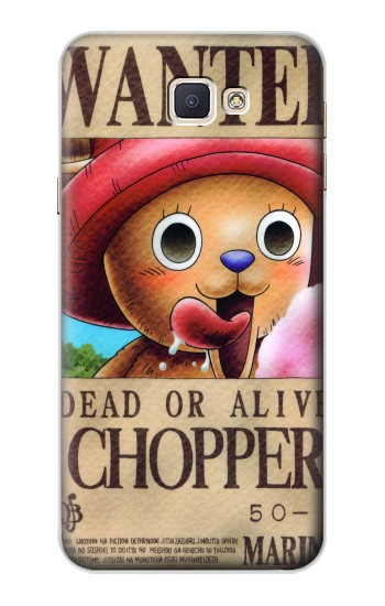 Printed One Piece CHOPPER Wanted Poster Samsung Galaxy A8, A8 Duos Case