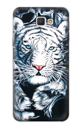 Printed White Tiger Samsung Galaxy A8, A8 Duos Case