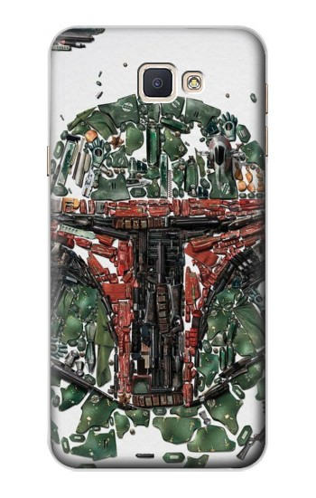 Printed Star War Soldier Samsung Galaxy A8, A8 Duos Case