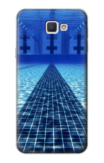 Printed Swimming Pool Samsung Galaxy A8, A8 Duos Case