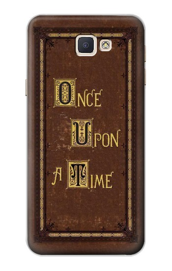 Printed Once Upon a Time Book Cover Samsung Galaxy A8, A8 Duos Case