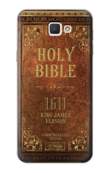 Printed Holy Bible 1611 King James Version Samsung Galaxy A8, A8 Duos Case