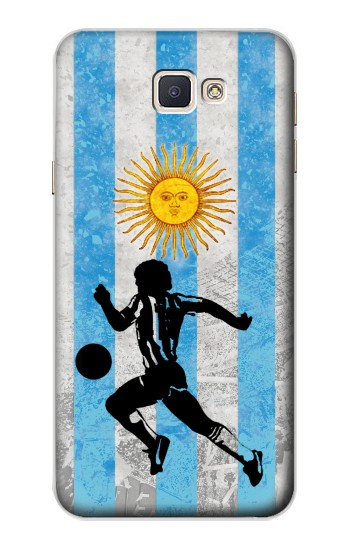 Printed Argentina Football Flag Samsung Galaxy A8, A8 Duos Case