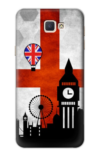 Printed England Football Flag Samsung Galaxy A8, A8 Duos Case