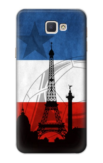 Printed France Football Flag Samsung Galaxy A8, A8 Duos Case