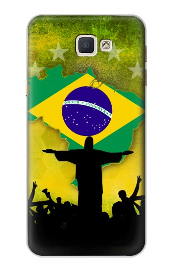 Printed Brazil Football Flag Samsung Galaxy A8, A8 Duos Case