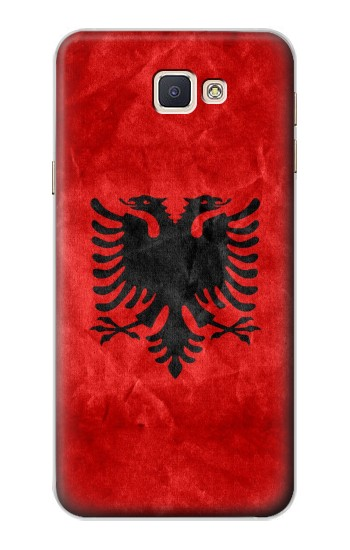 Printed Albania Red Flag Samsung Galaxy A8, A8 Duos Case